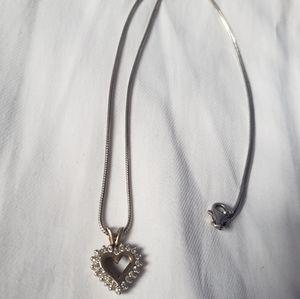 10K Diamond Necklace